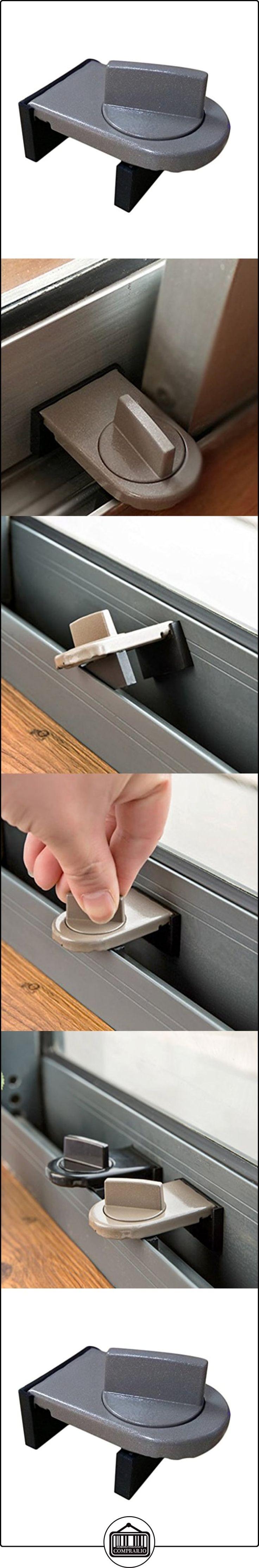 LUFA 2pcs Cerraduras para ventanas deslizantes Cerraduras de seguridad para niños Cerraduras para ventanas para ventanas Cerraduras para gabinetes de puertas(Color aleatorio) ✿ Seguridad para tu bebé - (Protege a tus hijos) ✿ ▬► Ver oferta: http://comprar.io/goto/B06X9PLN3G