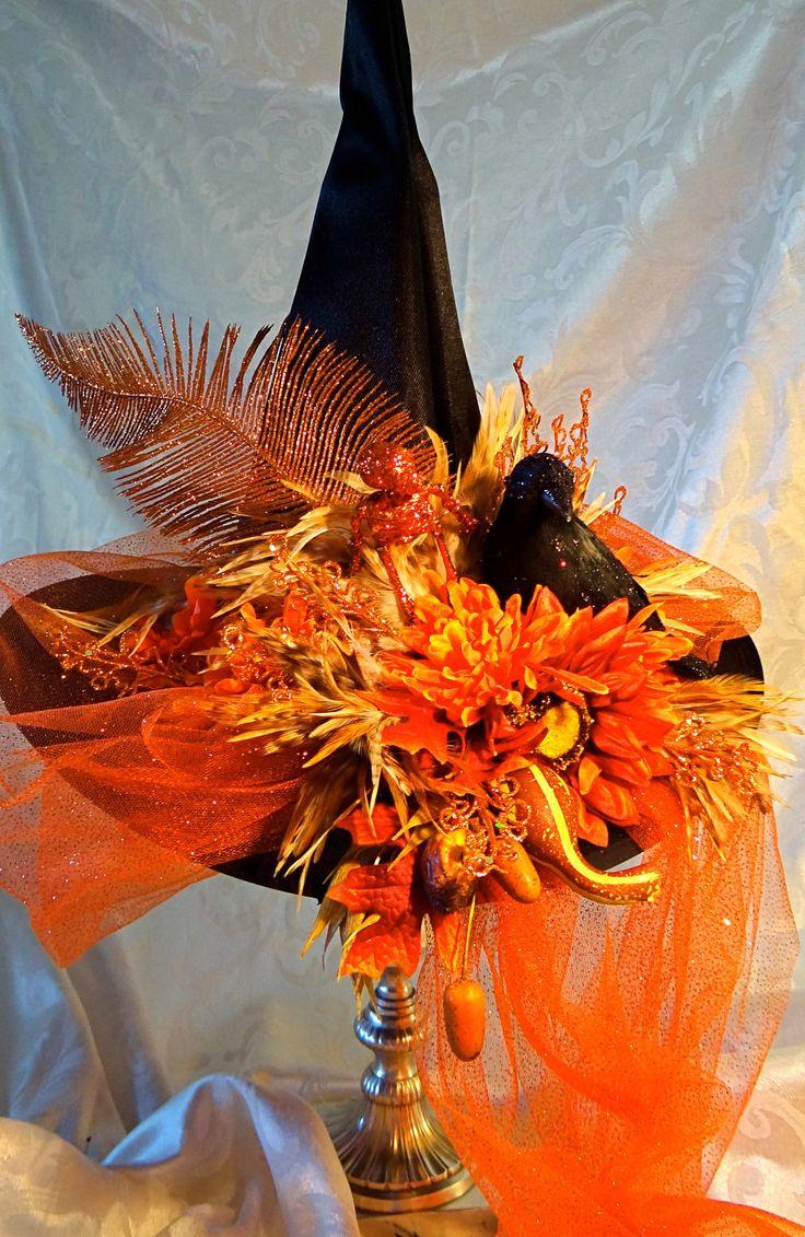 Best 25+ Halloween hats ideas on Pinterest | Witch hats, Purple ...