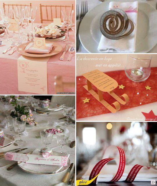 les 42 meilleures images propos de id es pr sentation menu mariage sur pinterest tables. Black Bedroom Furniture Sets. Home Design Ideas