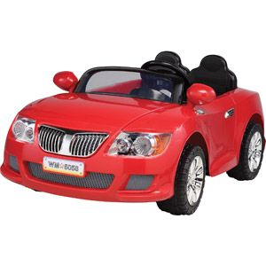 monster trax convertible car 12 volt battery powered ride on red