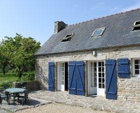 Casa de #vacaciones en Plonéour-Lanvern, Bretaña sur. 5 personas, 3 piezas, 2 dormitorios.  #france