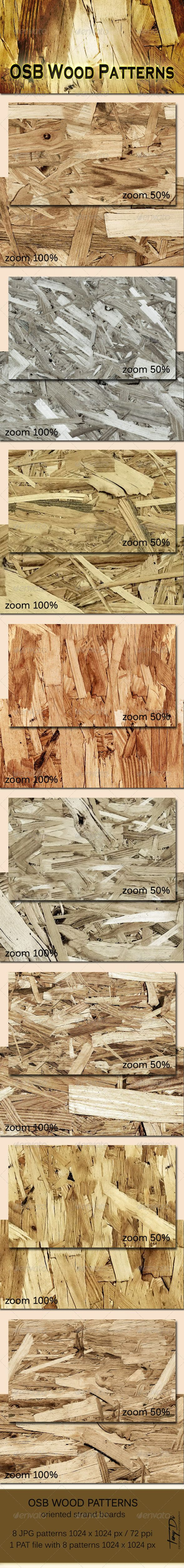 OSB Wood Patterns
