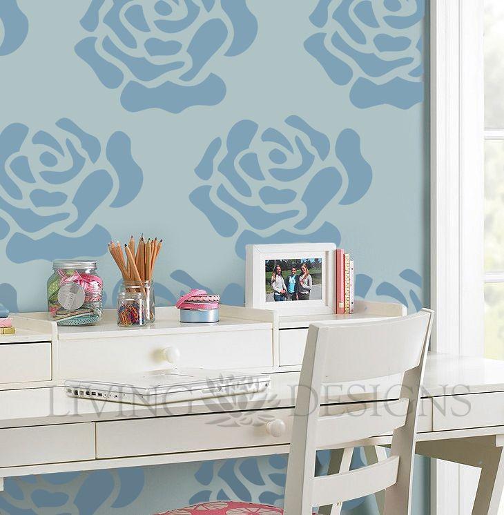 Más accesible que el papel tapiz y los vinilos decorativos. Tu mejor opción en diseño de interiores, ideal para recamaras de bebes, niños, c...
