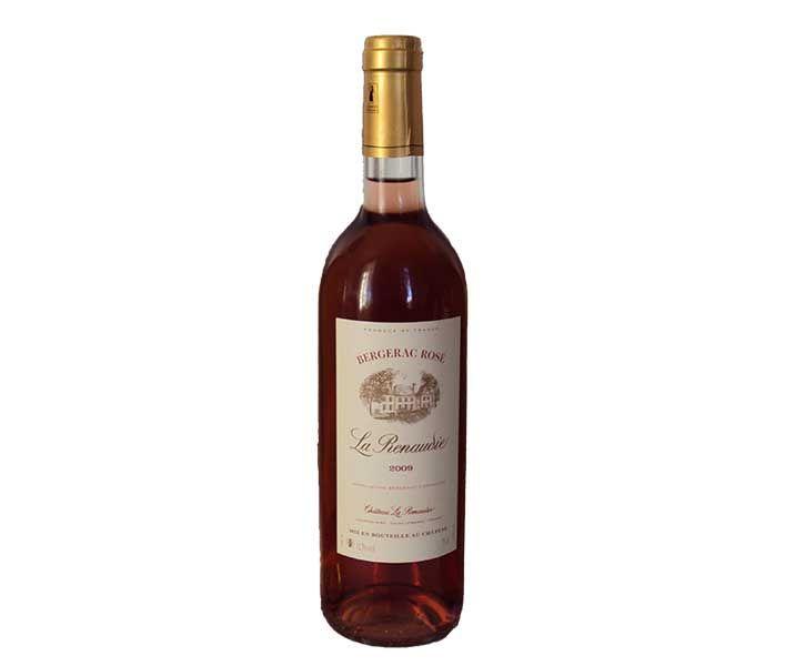 Bergerac Rosé La Renaudie - #SudOuest