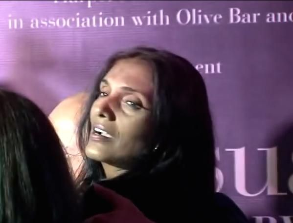 """ANU AGGARWAL At The Book Launch Of Her ""ANUSUAL"" At Olive Bar In Mumbai..Seen In Public In Like Ages!!!"""