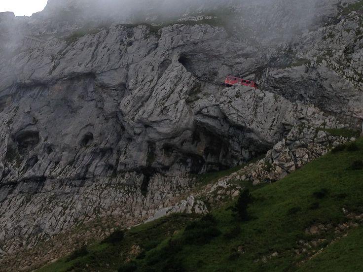 Pilátus-hegy, Svájc