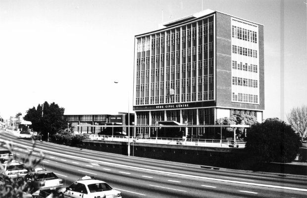 The Civic Centre in 1992.