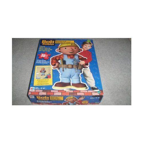 31997000922559 Bob the Builder casse-tête taille enfant. 30 pièces, près de 1 mètre de haut.