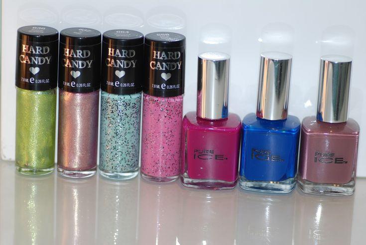 walmart nail polish haul pure ice hard candy wet n wild rimmel london salon perf…