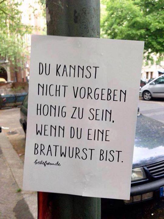 Honig vs. Bratwurst