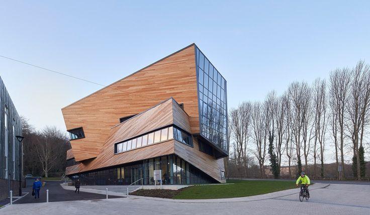 Даниэль Либескинд построил Центр фундаментальной физики в Дареме