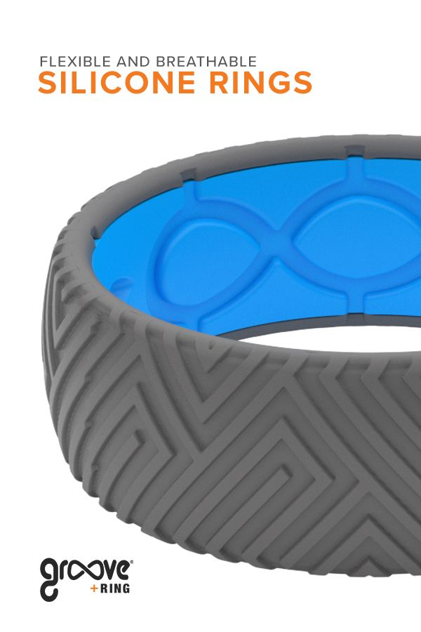 All Groove Dimension rings have the same breathable comfort as our Solid rings. Dimension silicone rings are a way to stand out while wearing a safe alternative to a metal band.
