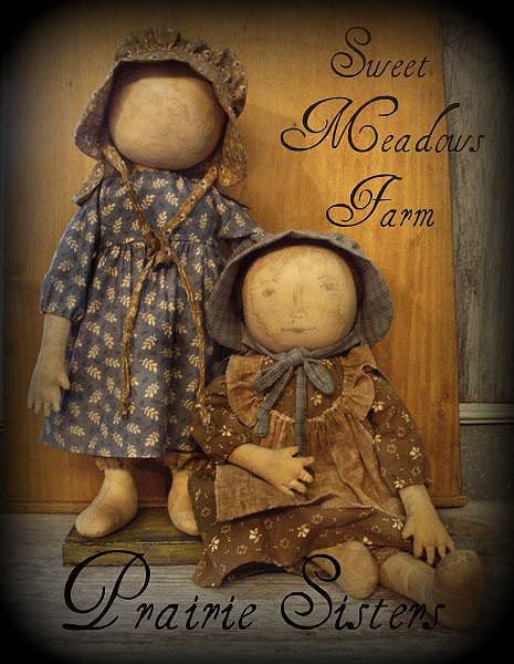 E-PATTERN Primitive Early Prairie Dolls I  do have this pattern