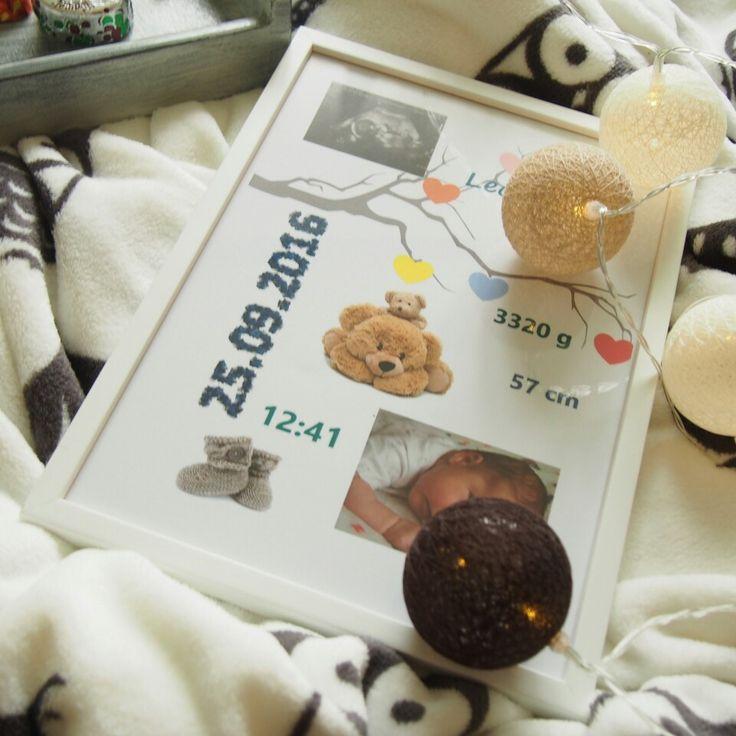 #metryczka #baby #decoration #kidsroom #babyroom #cottonballs