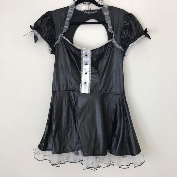 "LIP SERVICE Costume Vault ""Maid For Love"" short dress #97-309"