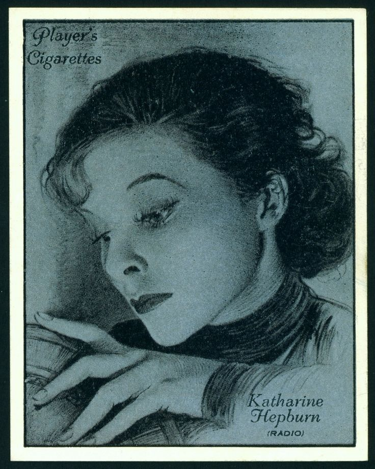 Players, Film Stars (Large Size) 1934. No16 Katherine Hepburn.