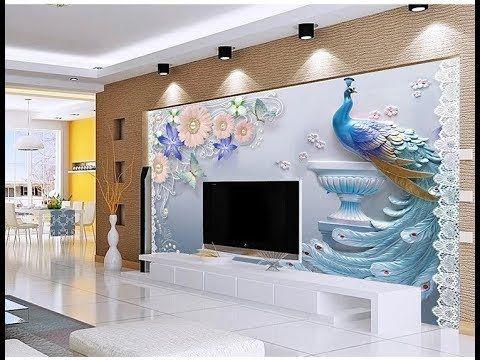 Peacock 3d Wallpaper Download Latest 5d Wallpaper For Bedroom Living Room As Royal Decor