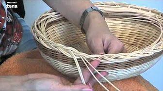 ▬► Плетение из газет овальной крышки. Часть 2. - YouTube