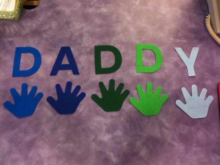 "DADDY (tune of ""BINGO"") #flannelfriday #feltstory #feltboardstory #storytelling #storytime"