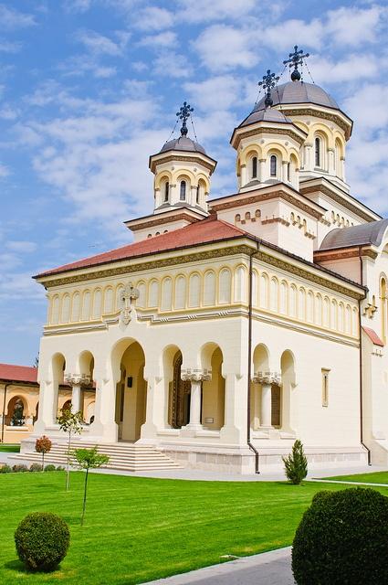 Romania - Catedrala Reîntregirii Neamului și a Încoronării Alba-Iulia by Sergiu Bacioiu
