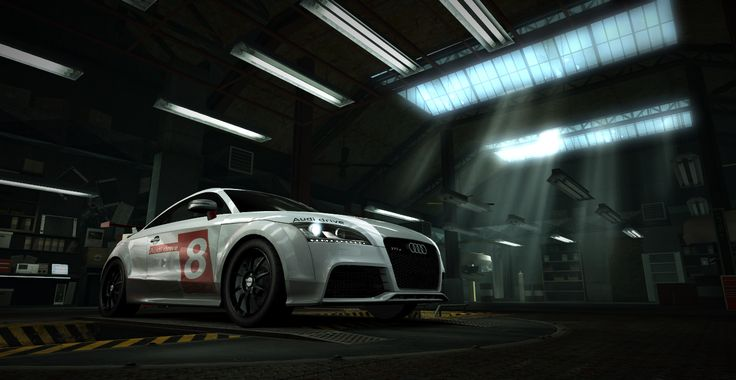 Audi TT race - garage season
