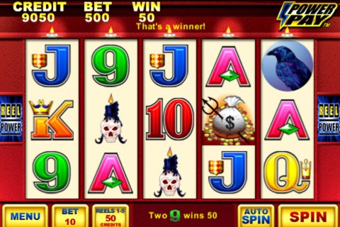 Wicked Winnings II, slot machine, this is quite the little payer if you can catch it on a good streak!