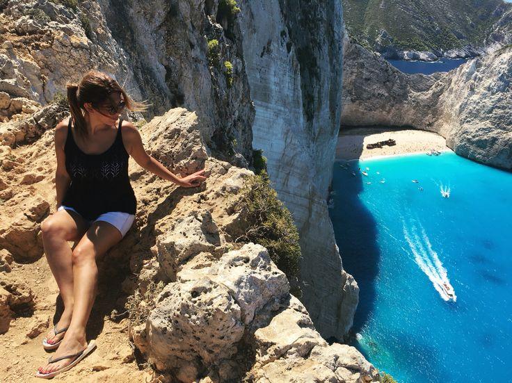 Shipwreck from above 😍 #Zakynthos #shipwreck #beach #greece #greekislands