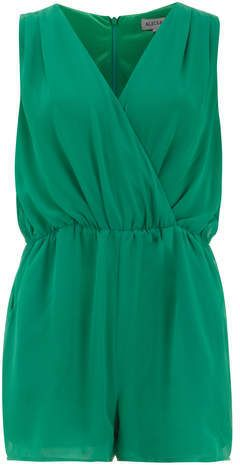 Green Playsuit by Alice & You. Buy for $35 from Dorothy Perkins