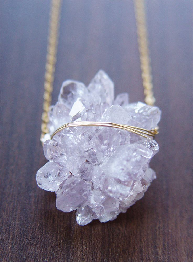 Crystal necklace FriedaSophie Jewelry...pinned by ♥ wootandhammy.com, thoughtful jewelry.