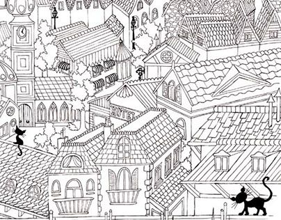 """Check out new work on my @Behance portfolio: """"coloring pages ...""""…"""