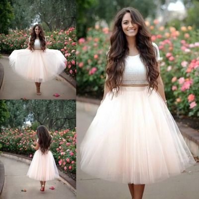Fashion Peach Tutu Skirt For Adult