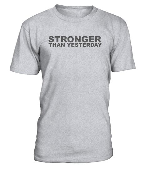 """# Stronger Than Yesterday Subtle Fitness Workout Gear T-shirt .  Special Offer, not available in shops      Comes in a variety of styles and colours      Buy yours now before it is too late!      Secured payment via Visa / Mastercard / Amex / PayPal      How to place an order            Choose the model from the drop-down menu      Click on """"Buy it now""""      Choose the size and the quantity      Add your delivery address and bank details      And that's it!      Tags: Great way to keep your…"""
