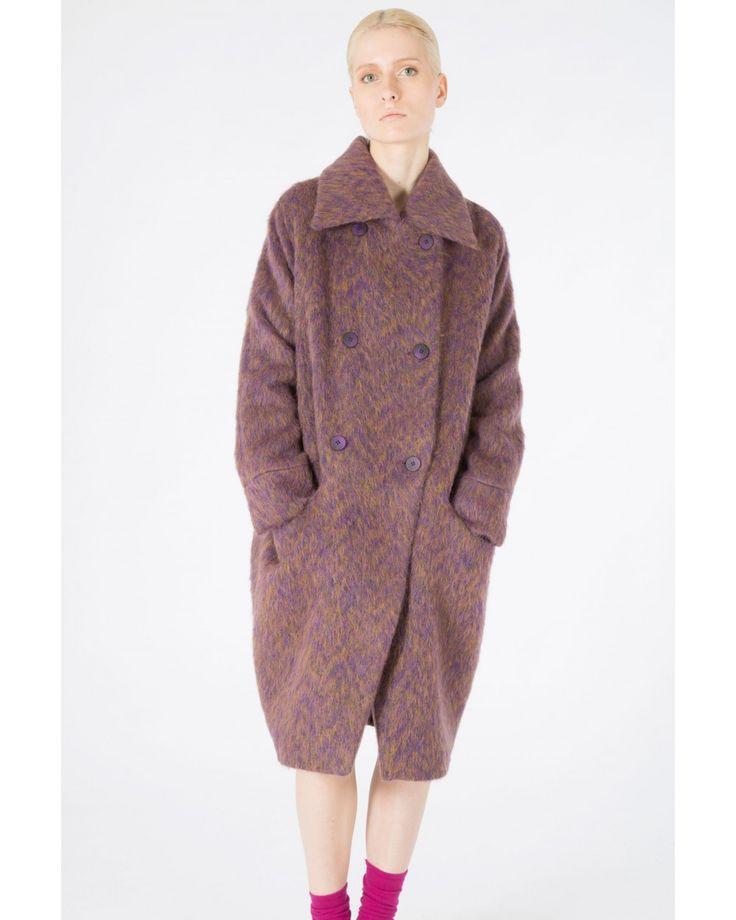 Пальто с длинным ворсом - ПАЛЬТО И ТРЕНЧИ