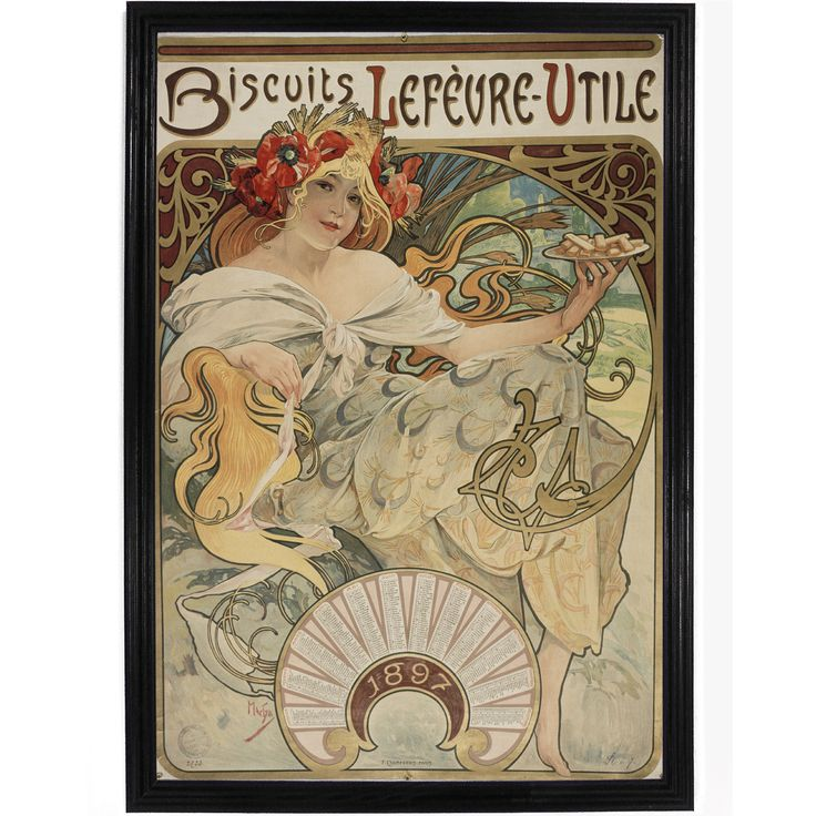 Biscuits by Alphonse Mucha
