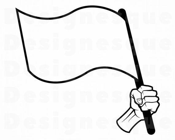 White Flag Svg Waving Flag Svg White Flag Clipart White Etsy In 2021 White Flag Clip Art Svg