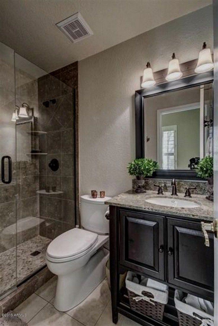 68 Spectacular Farmhouse Bathroom Decor Ideas 38 Farmhousebathroom Farmhousedecor Agilshome Com Bathroom Remodel Shower Bathroom Design Small Master Bathroom Makeover