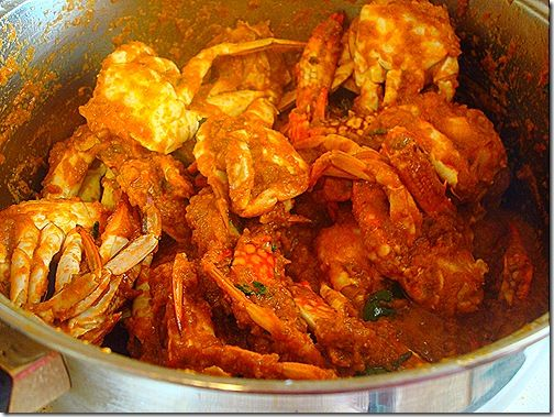 how to make crab curry south indian style