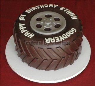 Cars Party Cake Idea - Chocolate