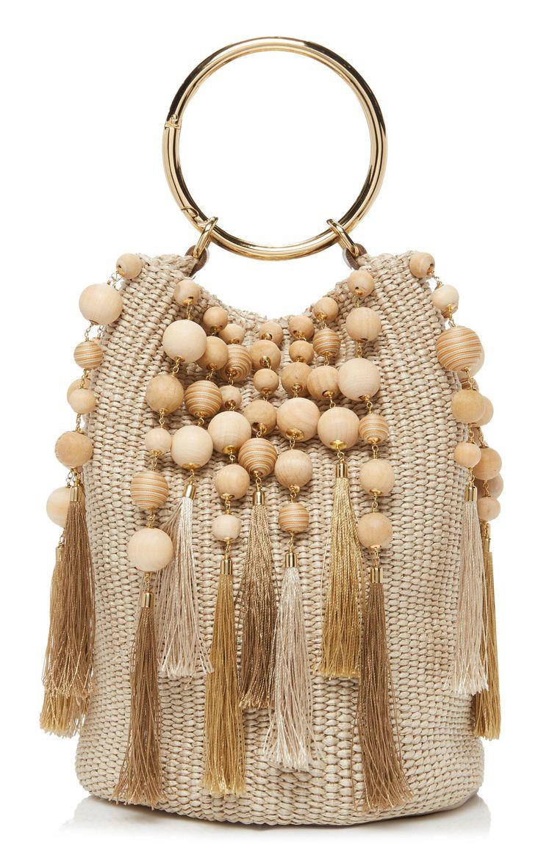 Lexy Tassel Woven Bucket Bag Bucket bag, Bags, Crochet