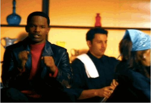 While Jamie Foxx is doing…something. | This Promo For The WB From 2000 Will Blow Your Mind