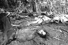 Mozote Massacre – on December 11, 1981, units from the Salvadoran Army killed 800 civilians, more than half of them children, in the village of El Mozote. (photo: Susan Meiselas, Magnum Photos)