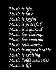 .Would make a neat door display.  Put the word MUSIC in large letters and then put the rest of the phrases on separate pieces of backed paper