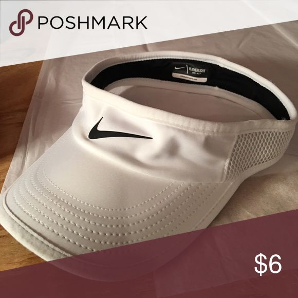 Nike Women's Visor White Only wore once Nike Accessories Hats