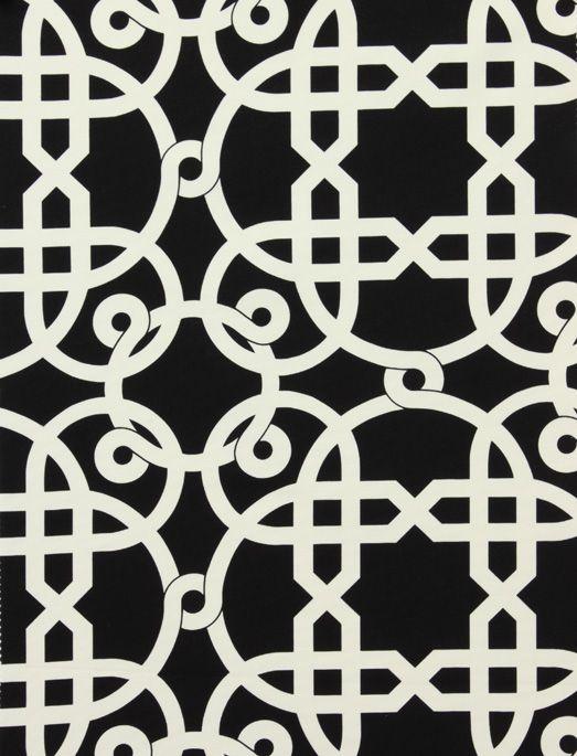 alexander henry palazzo black and white fabric blackfabric