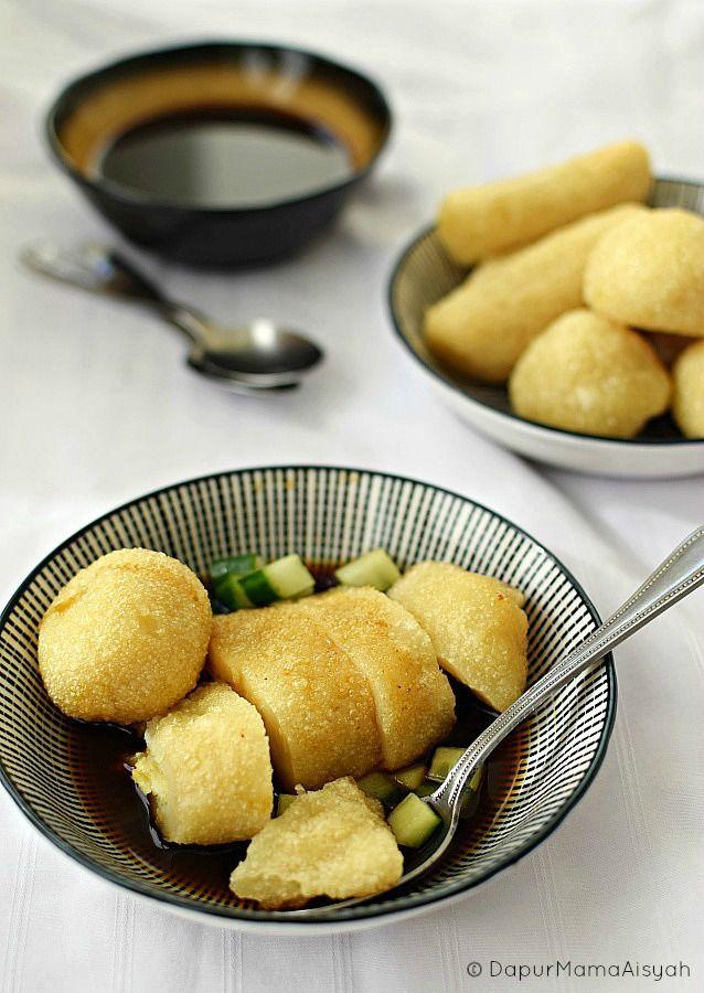 Dapur Mama Aisyah: Pempek Dos Kreasi, Gurih meski tanpa Ikan..
