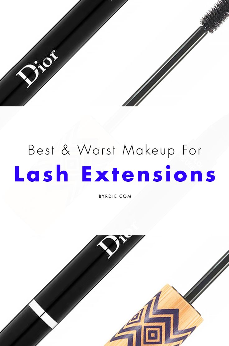 The makeup dos and don'ts for eyelash extensions