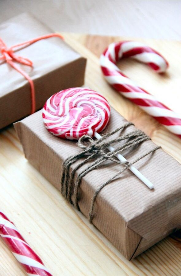 Cute way to wrap a gift