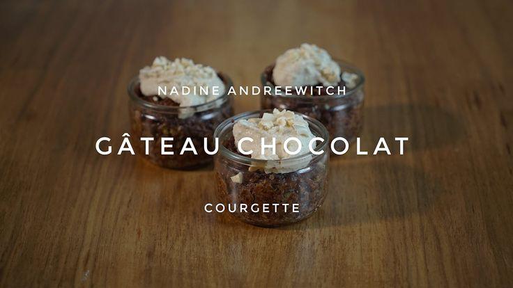 95 Degrés - Gâteau chocolat-courgettes