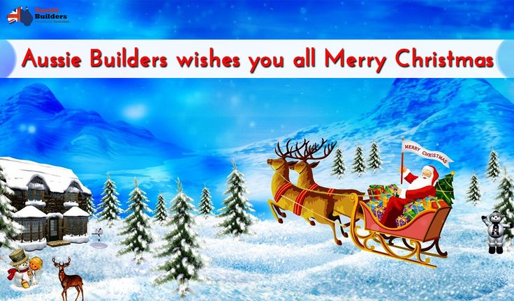 #AussieBuilders wishes you all a Merry Christmas...