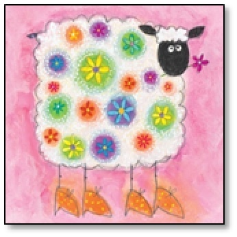 S is for sheep